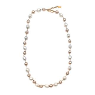 Yves Saint Laurent Faux-Pearl Chain Belt