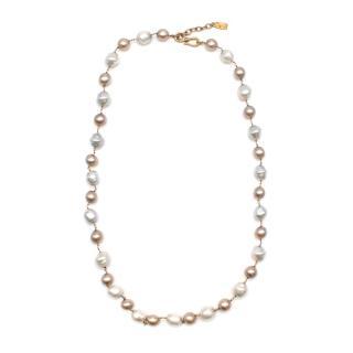Yves Saint Laurent Faux-Pearl Chain Belt