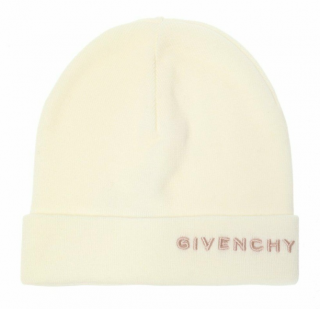 Givenchy Beige Wool Embroidered Beanie