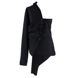 Marques Almedia Asymmetric Black Shift Shirt