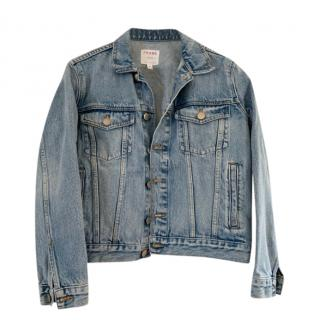 Frame Blue Womens Denim Jacket