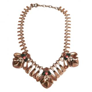 J Crew Crystal Embellished Necklace
