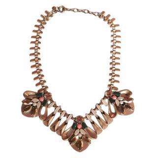 J Crew Crystal Embellished Necklace