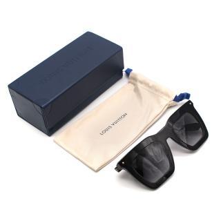 Louis Vuitton Black Square Oversize Sunglasses