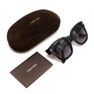 Tom Ford Brown Tortoiseshell Square Sunglasses