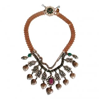 Mawi Crystal Collar Necklace