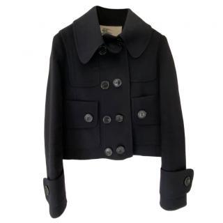Burberry Prorsum Black Wool Jacket