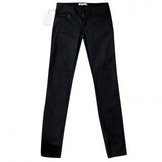 Pierre Balmain Black Slim Leg Jeans
