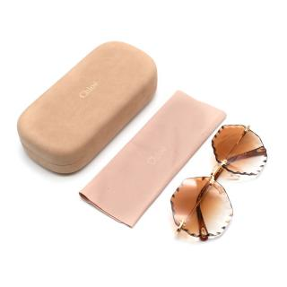 Chlo� CE142S Women's Round Sunglasses