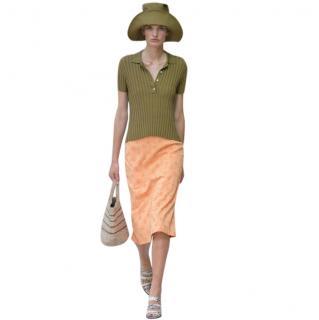 Samsoe & Samsoe Coral Floral Print Jo Skirt