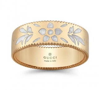 Gucci Icon Blossom 18ct Yellow Gold Ring