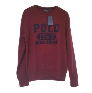 Polo Ralph Lauren Burgundy 1967 Sweatshirt