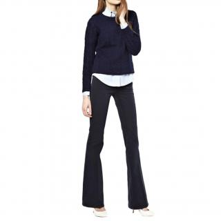 MiH Blue Marrakech Kick Flare Jeans