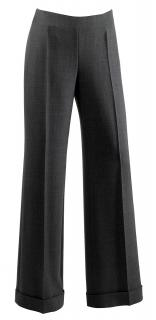 Paule Ka Grey Wool Wide Leg Pants