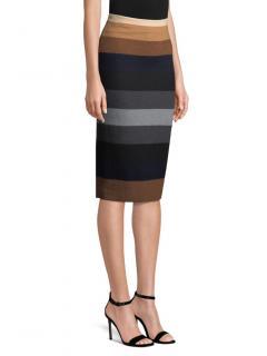 Max Mara Striped Marea Skirt