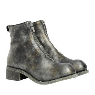 Guidi Horse Full Grained Camouflage Boots