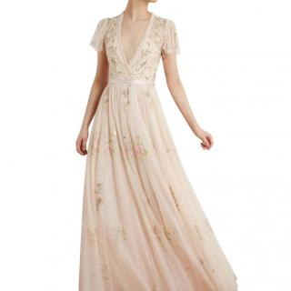 Needle & Thread Meadow Pink Petunia Gown