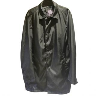 Prada Black Lightweight Men's Coat