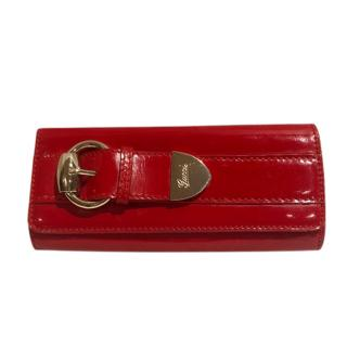 Gucci Romy Red Patent Clutch/Wallet