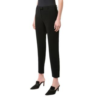 Altuzarra 'Henri' Black Tailored Buttoned Trousers