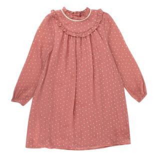 Wild & Gorgeous Pink Star Print Dress