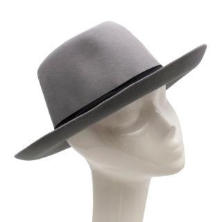 Alfonso D'Este Grey Felt Hat