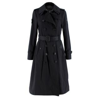 Trench London Black Sloane Trench Coat