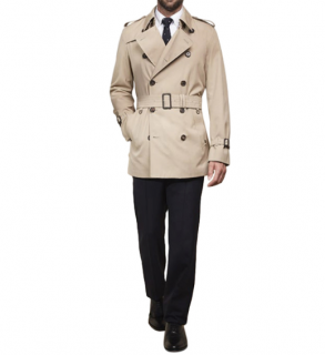 Aquascutum Corby Double Breasted Trench Coat