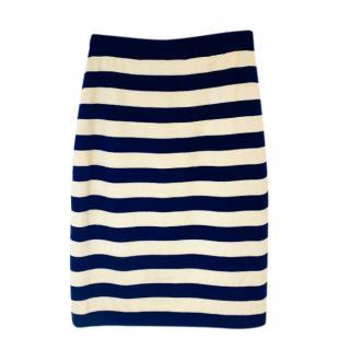 Yves Saint Laurent Vintage Striped Skirt