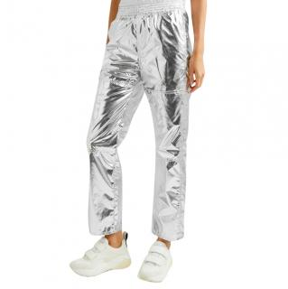 MM6 Maison Margiela Metallic Track Pants