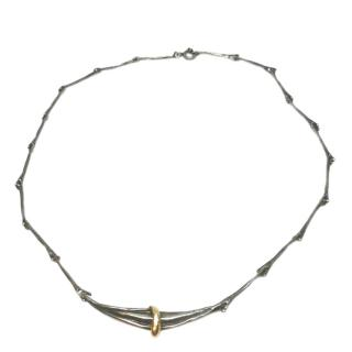 Stephen Webster Sterling Silver Branch Necklace