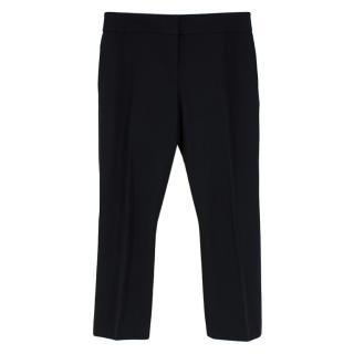 Alexander McQueen Black Flared Pants