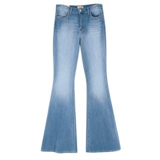 L'Agence The Solana Denim High Waisted Flared Jeans