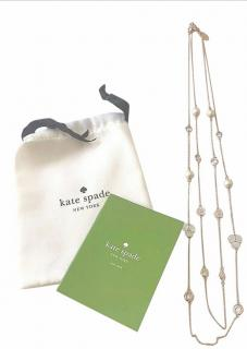 Kate Spade Crystal Disco Pansy Scatter Necklace