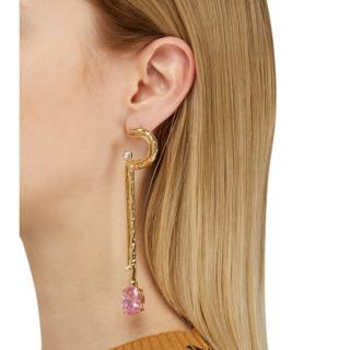 Alican Ioz Girls + Attico mono earring
