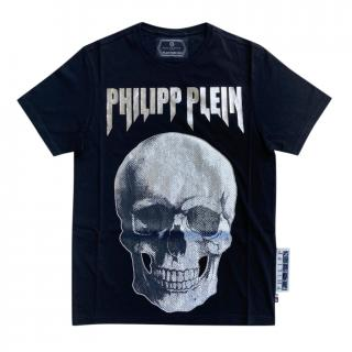 Philipp Plein Black Skull Print T-Shirt