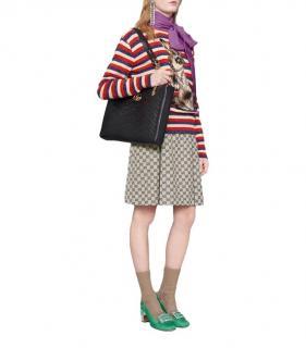 Gucci Wool Lurex Rabbit Striped Jumper