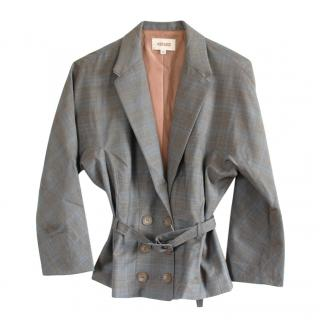 Kenzo Wool Grey Tailored Jacket