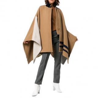Chlo� Colour Block Cape Coat