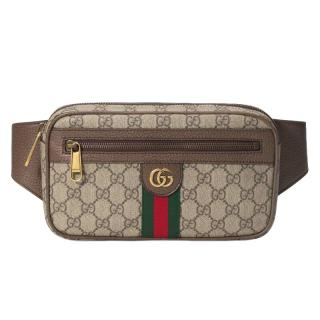 Gucci Ophidia GG Monogram Leather Belt Bag