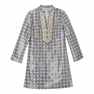 Tory Burch Isabelle Jacquard Dress