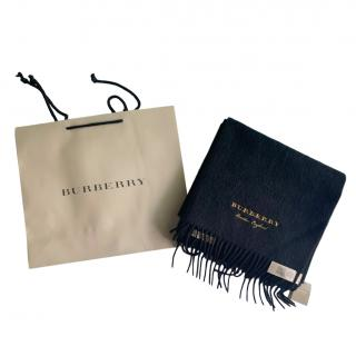 Burberry Limited Edition Cashmere Scarf black