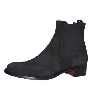 Rupert Sanderson Saymara Black Suede Boots