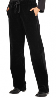 MM6 Maison Margiela Black Velvet Pants