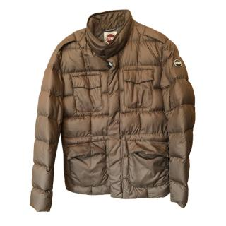 Colmar Brown Quilted Puffer Jacket