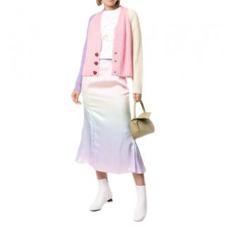 Olivia Rubin Pastel Colour Block Cardigan
