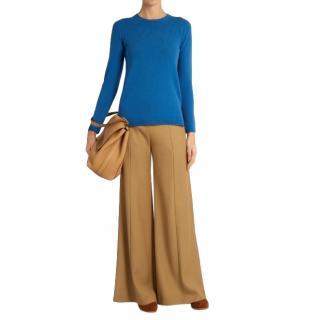 Max Mara Figlio Blue Wool/Cashmere Jumper