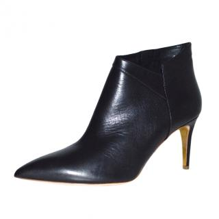Rupert Sanderson black leather Clare ankle boots