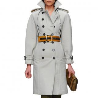Burberry Prorsum Cotton & Wool Blend Runway Tailored Coat