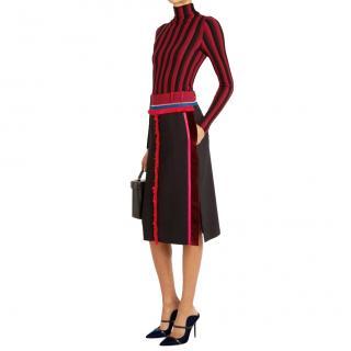 Altuzarra  Crepe Alic Black Skirt